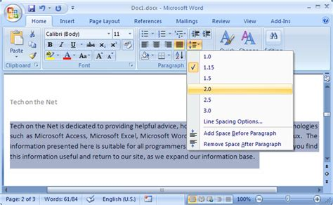 Dauble Spacy how to space an essay in ms word quora