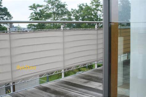 Brise Vue En Toile Pour Terrasse by Brise Vue En Toile Pour Balcons Couleur Gris Clair 90x500