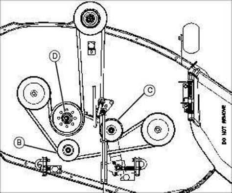 deere la115 belt diagram solved deere traction drive belt diagram for x304