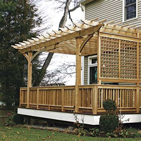 pergola privacy screen panels and pergolas 10 ways to add privacy to your yard