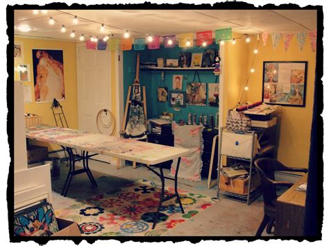 art and craft studio art studio in basement cute and smart spaces pinterest