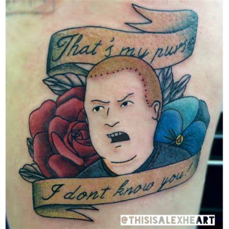 bobby hill tattoo bobby hill quotes quotesgram
