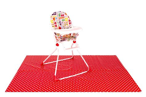 Floor Mat For Highchair by Mat High Chair Splash Mess Mat Large Xl Ebay