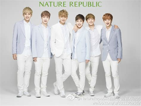 exo nature republic official pictures of exo for nature republic released