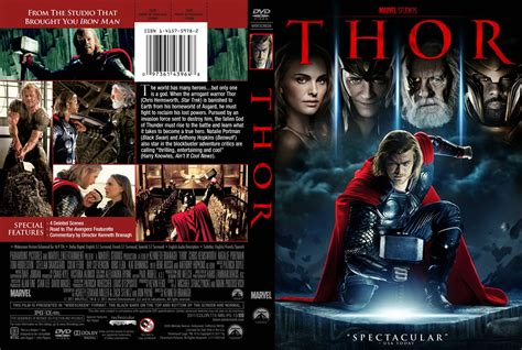 Komix Rasa Jahe 1 Box thor 2011 ws r1 dvd cd label dvd cover front