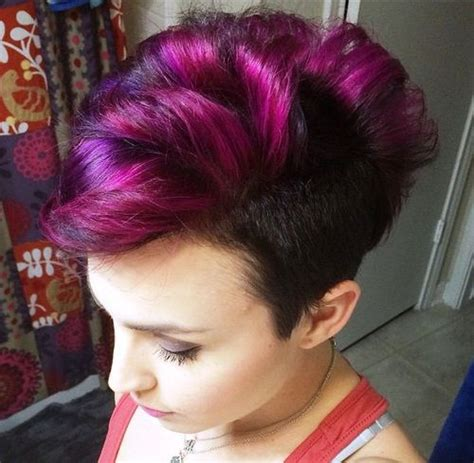 long multilayer permed hairstyles 2014 25 exquisite curly mohawk hairstyles for girls women