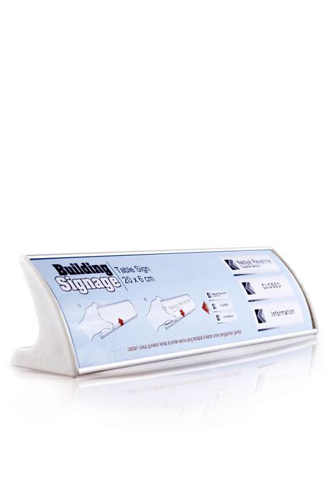 Papan Nama Meja Plastik jual papan nama meja table sign displaystore i harga