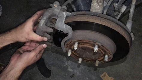 change brake pads rodeo  isuzu diy truck