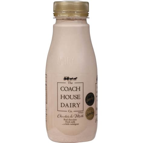 the milk house the coach house dairy chocolate milk 300ml woolworths