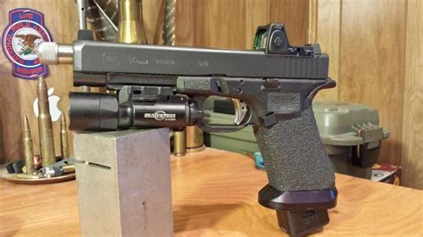 High Point Pro 34 gear review trijicon rmr sight adjustable led the