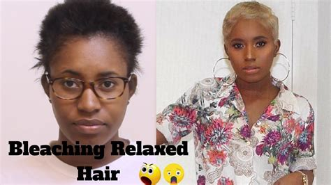 best at home relaxer for black hair 2014 black hair to blonde hair tutorial relaxed hair youtube