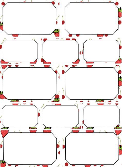Etiketten Marmelade Zum Ausdrucken by Mein Wunderbares Gartenbuch Etiketten F 252 R Marmelade