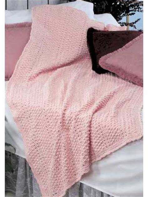 Chenille Baby Blanket Pattern by Chenille Afghan