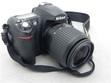 nikon d50 digital with nikon ed 18 55mm f 3 5 5 6 zoom lens ebay