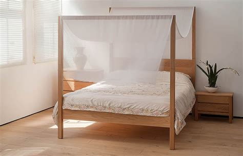 four poster bed oasis contemporary 4 poster bed natural bed company