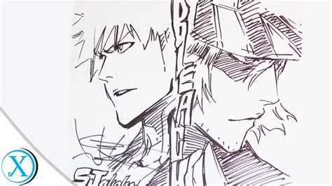 One U Sketches by Tite Kubo Drawing Style Www Pixshark Images