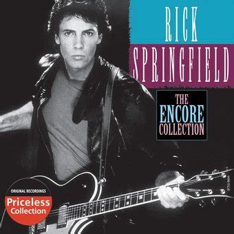 Rick Springfield The Encore Collection Cd rick springfield the encore collection cd 2008
