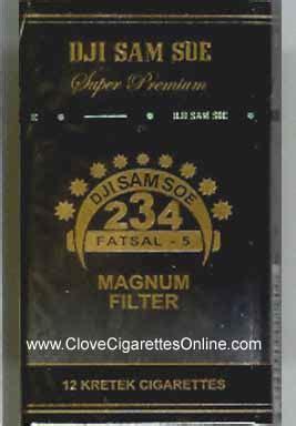Dji Sam Soe Magnum Filter soerna cigarettes