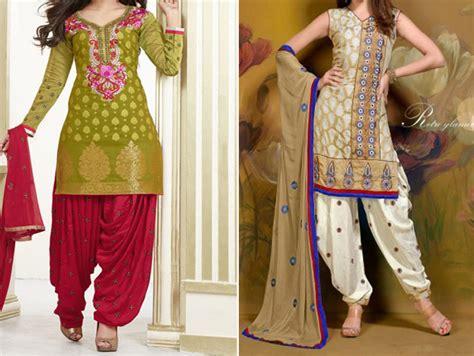 design dress cutting cotton patiala salwar kameez suit neck designs 2015 catalog