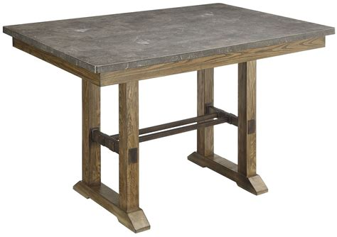 counter height table height willowbrook rustic ash counter height table 106988