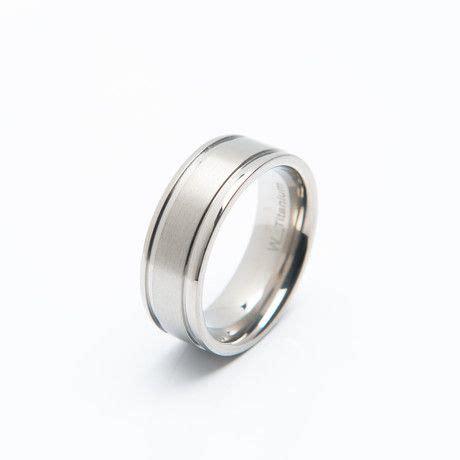 titanium ring  mens fashion accessories titanium