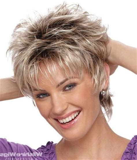 short hair cust with puffy topack short shag hairstyles 2015 2016 hair beauty and