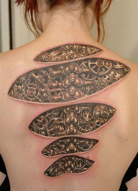 65 mesmerizing optical illusion tattoos tattooblend