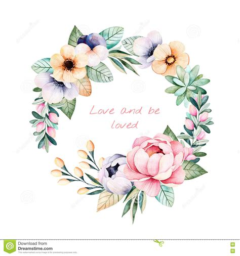 free pastel color card templates colorful floral pastel template card with flowers stock