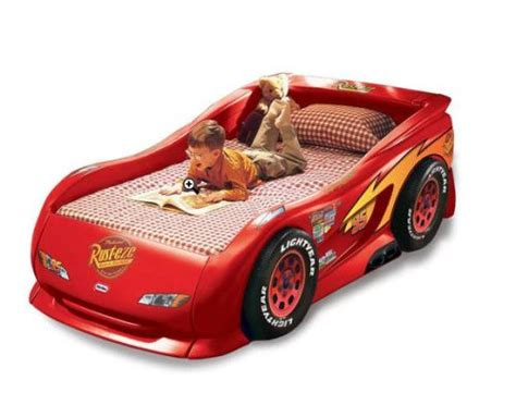 Buy Lightning Mcqueen Car Bed