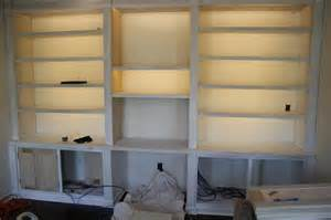 Led Bookcase Lighting How To Install Inexpensive Energy Efficient Under Cabinet