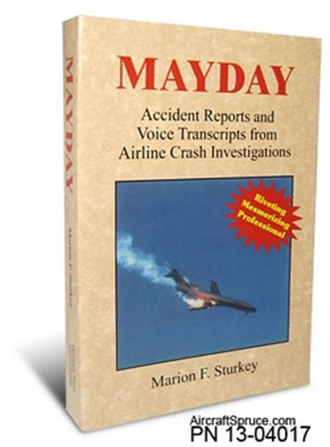 mayday books mayday book from aircraft spruce europe