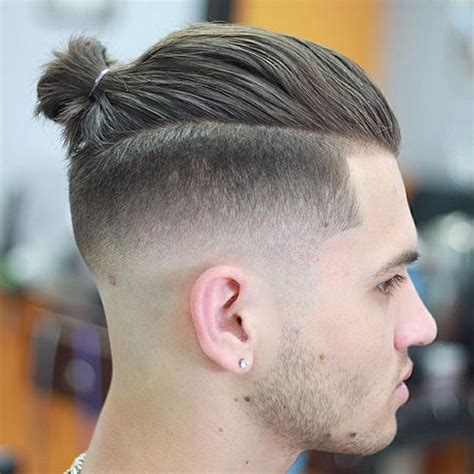 men growing hair for a top knot man bun hairstyle men s haircuts hairstyles 2018