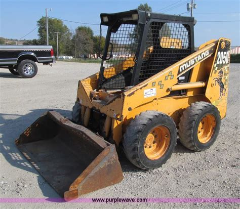 mustang 2050 skid steer parts construction equipment auction in manhattan kansas by