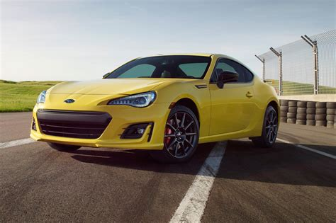 2017 subaru brz series yellow unveiled limited to 500