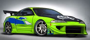 Mitsubishi Eclipse Cars How To Draw A Mitsubishi Eclipse Step By Step Cars Draw