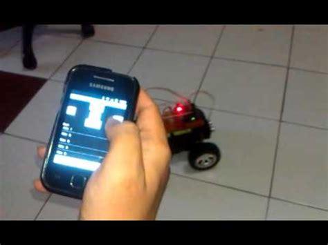 membuat robot android cara membuat robot terkendali android youtube