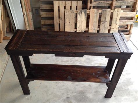 pallet sofa table pallet entry desk pallet furniture diy