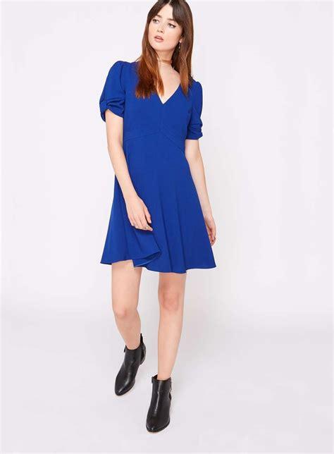 Bow Sleeve Dress cobalt bow sleeve dress miss selfridge