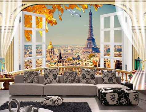 eiffel tower wallpaper for bedroom online get cheap eiffel tower wallpaper aliexpress com