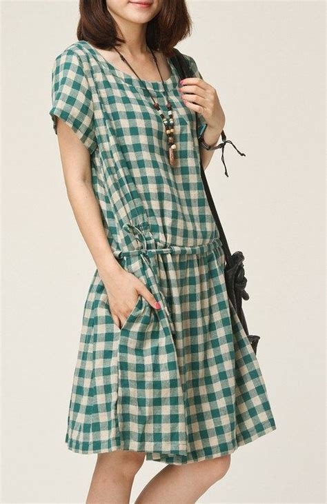 Baju Grid Tunic 17 best ideas about gingham dress on gingham