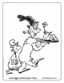 Green Eggs And Ham Coloring Printable  Arts &amp Crafts Pinterest sketch template