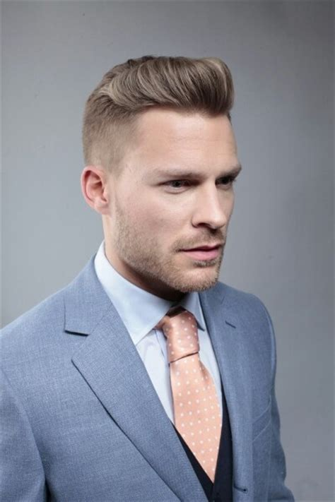 Guys Hair Style Poof In Front | slicked back mens hair men s cuts pinterest men hair