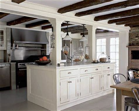 Kitchen Island Columns by I Want To Take Down The Wall Between The Dining Room And