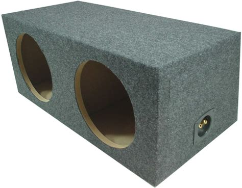 Box Subwoofer 10 Inch car audio dual 10 inch sub box rear subwoofer sealed speaker mdf carpeted