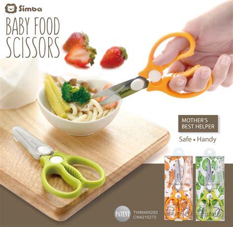 Pemotong Makanan Food Scissor Baby simba baby food scissors 11street malaysia utensils