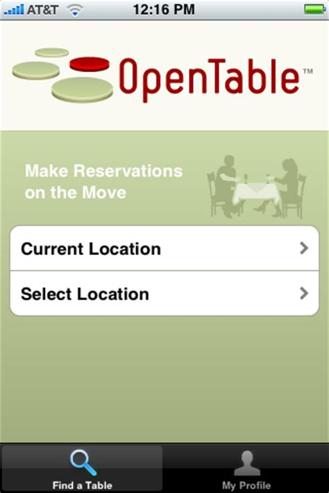 Open Table App by Opentable S Iphone App Makes Reservations A Ars