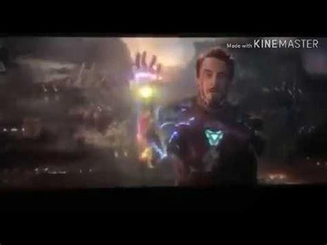 avenger endgame iron man death scene youtube