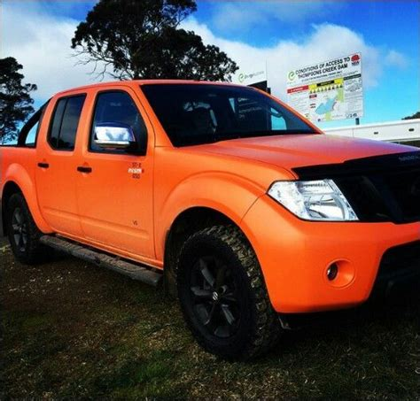 orange nissan truck d40 orange black nissan navara nissan