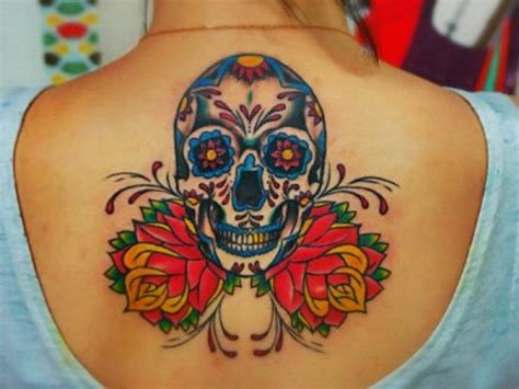 what does a skull tattoo mean 40 sugar skull meaning designs