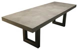 Cement Dining Table Zen Concrete Table Contemporary Dining Tables New York By Trueform Concrete
